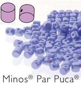 10 GM 2.5x3mm Minos Par Puca : Pastel Light Sapphire (APX 200 PCS)