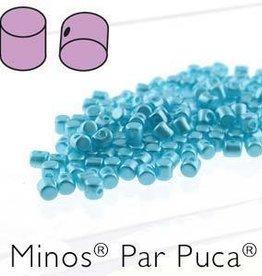 10 GM 2.5x3mm Minos Par Puca : Pastel Aqua (APX 200 PCS)