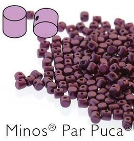 10 GM 2.5x3mm Minos Par Puca : Pastel Bordeaux (APX 200 PCS)