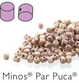 10 GM 2.5x3mm Minos Par Puca : Opaque Rose Gold Ceramic (APX 200 PCS)