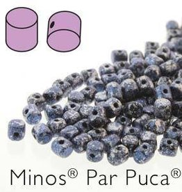 10 GM 2.5x3mm Minos Par Puca : Tweedy Blue (APX 200 PCS)
