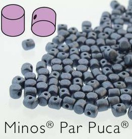 10 GM 2.5x3mm Minos Par Puca : Metallic Matte Blue (APX 200 PCS)
