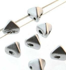 10 GM 6mm Super Kheops Par Puca : Silver Aluminum Matte (APX 50 PCS)