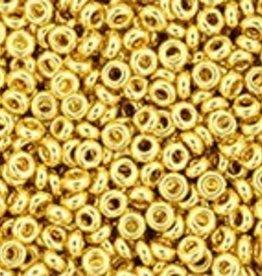 7.8 GM Demi Round 11/0 : Metallic 24K Gold Plated (APX 1400 PCS)