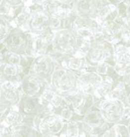 7 GM Toho Demi Round 8/0 : Transparent Crystal (APX 550 PCS)
