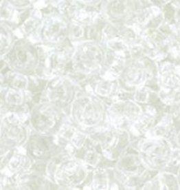 7.4 GM Demi Round 8/0 : Transparent Crystal (APX 590 PCS)