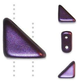 10 GM 8x6mm Tango™ 2 Hole Bead : Pastel Bordeaux (APX 65 PCS)