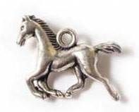 1 PC ASP 15x20mm Horse Charm