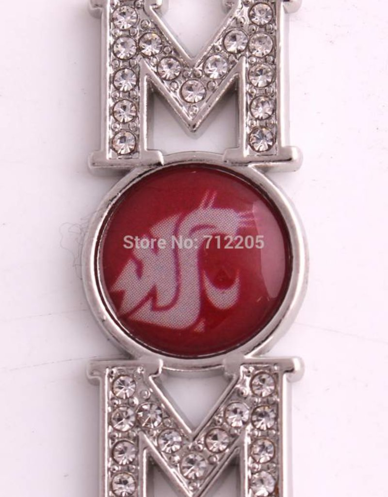"1 PC 14x38mm WSU ""Mom"" Pendant"