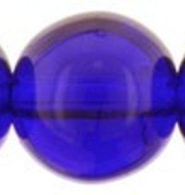 25 PC 8mm Round : Cobalt