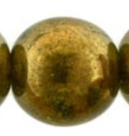 25 PC 8mm Round : Patina Olivine