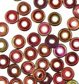 10 GM 3.8x1mm O Bead : Magic Wine (APX 350 PCS)