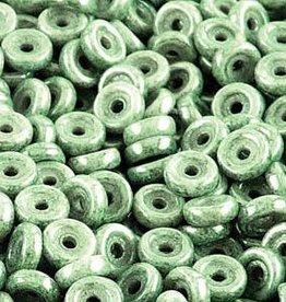 10 GM 6mm Wheel : Chalk Green Luster (APX 80 PCS)