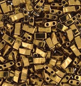 10 GM 5mm Tila 1/2 Cut : Dark Bronze (APX 250 PCS)