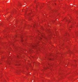 10 GM 5mm Tila 1/2 Cut : Transparent Red (APX 250 PCS)