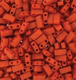 10 GM 5mm Tila 1/2 Cut : Burnt Sienna (APX 250 PCS)