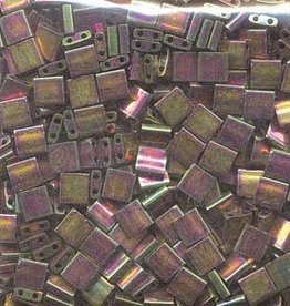 10 GM 5mm Tila Bead : Bronze Metallic Iris Luster (APX 110 PCS)