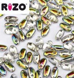10 GM 2.5x6mm Rizo : Vitrail (APX 150 PCS)