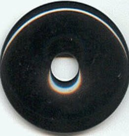 1 PC 40mm Black Onyx Donut
