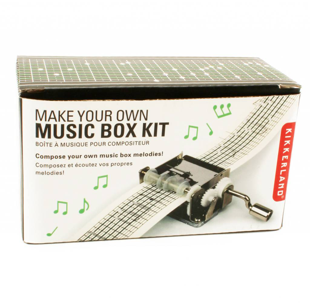 Make Your Own Music Box Kit Toy Space