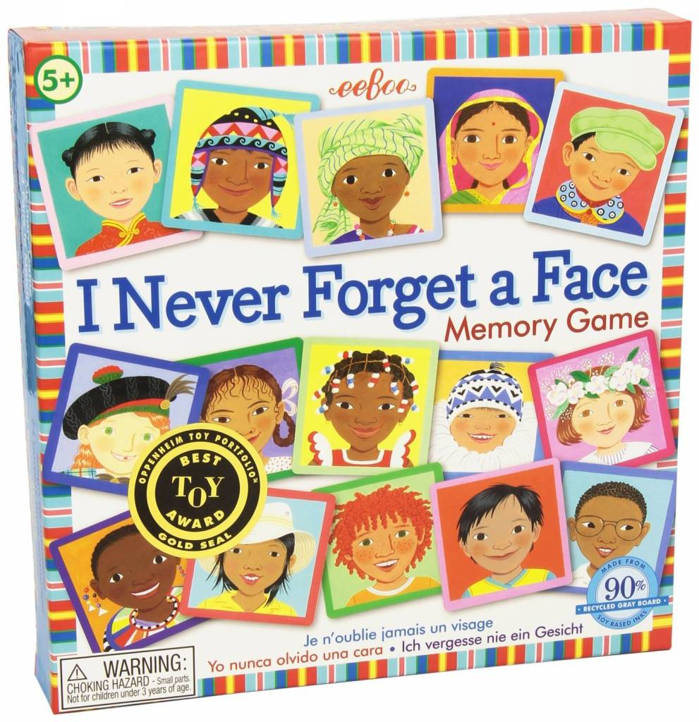 I Never Forget a Face Matching Game