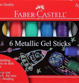 Metallic Gel Sticks - 6ct