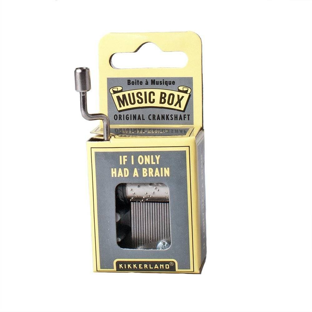 Mini Hand-Crank Music Box