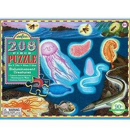 Bioluminescent Creatures 208pc Puzzle