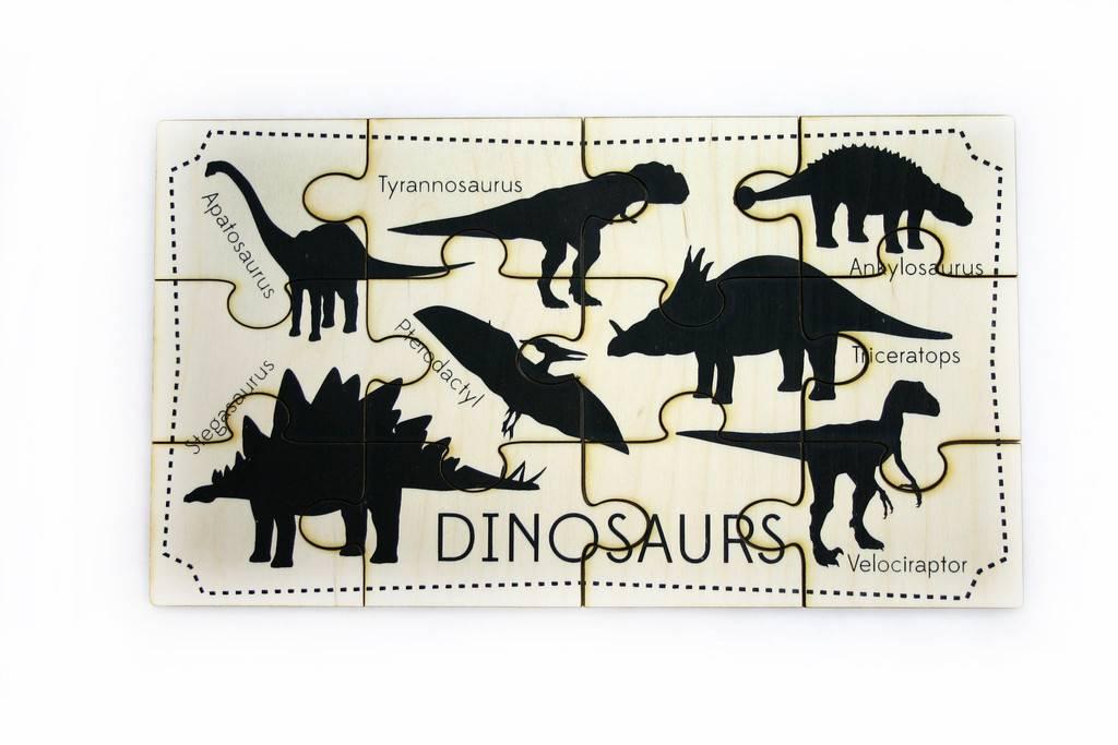 Tree Hopper Jigsaw Puzzle - Dinosaurs