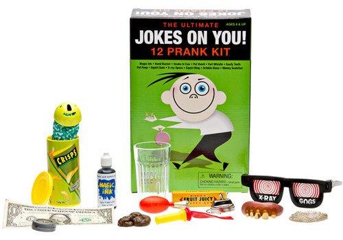 Jokes on You Prank Kit 12 pc