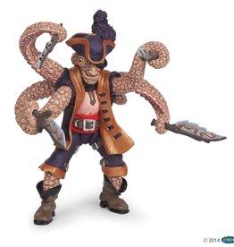 Papo Octopus Mutant Pirate