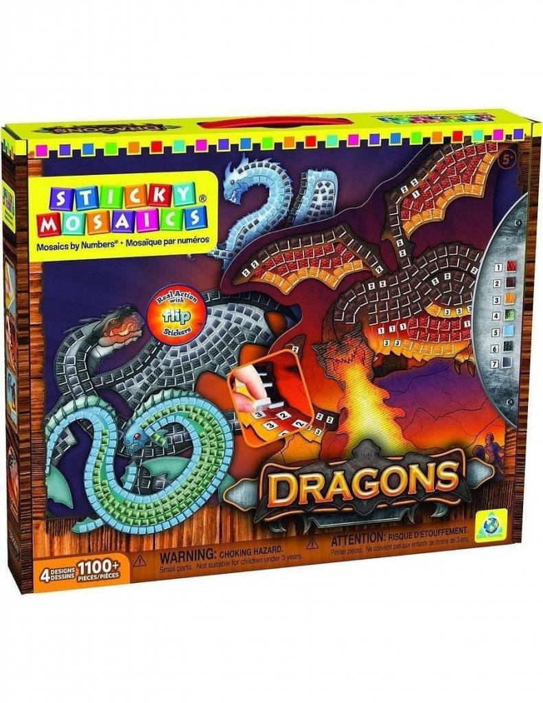 Sticky Mosaics Dragons