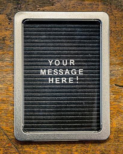 Mini Message Board