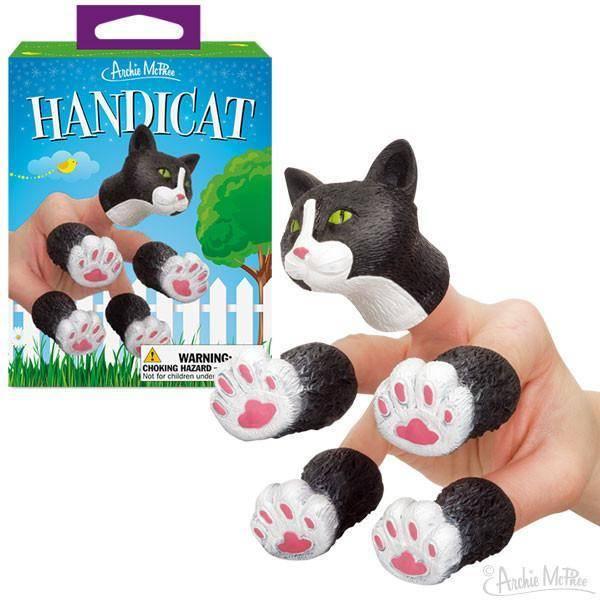 Handicat Finger Puppets