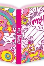 Rainbow World Foil Coloring Diary