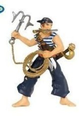 Papo Pirate Corsair With Grapnel Blue