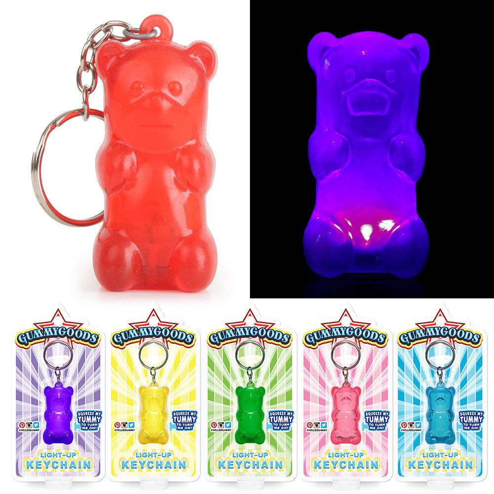 GummyGoods Light Up Keychain