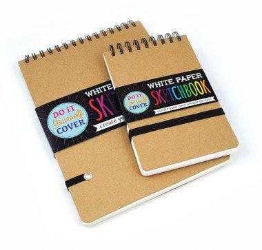 """DIY Cover Sketchbook Large 8""""x10.5"""""""