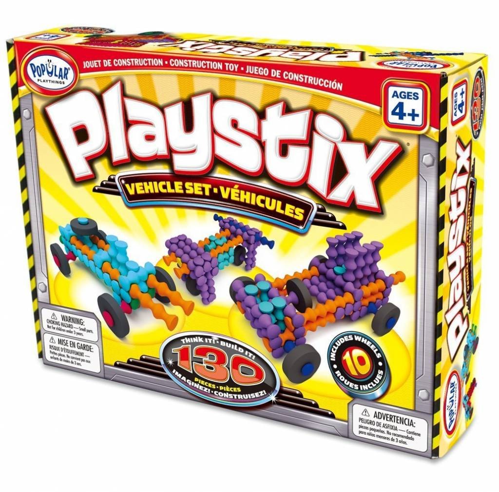 Playstix Vechicle Set - 130 pc