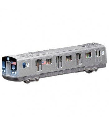 Daron MTA Pull-back Subway Car-sound and friction