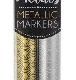 Precious Metals Fine Tip Markers - Set of 2