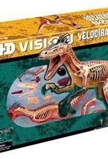 VELOCIRAPTOR ANATOMY 4D MODEL