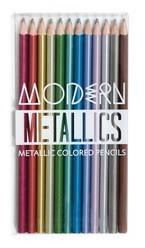 Modern Metallics Colored Pencils- Set of 12