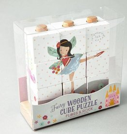 Wooden Cube Puzzle Fairy