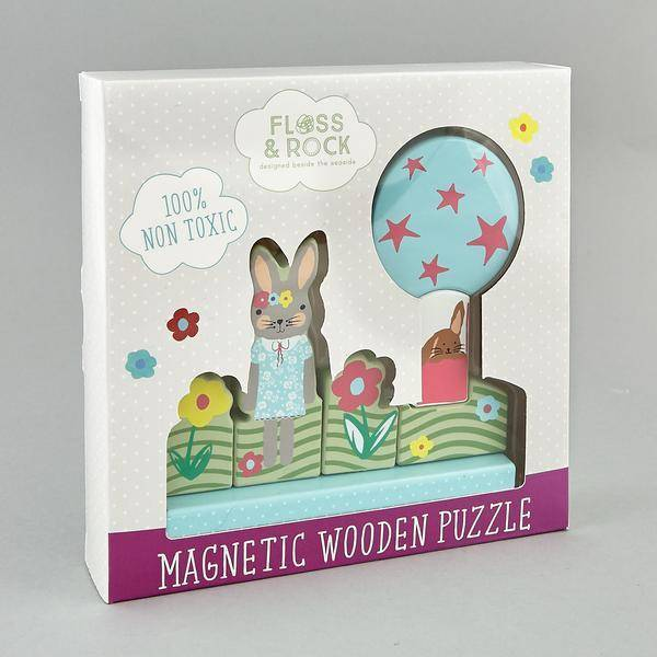 Magnetic Puzzle Bunny