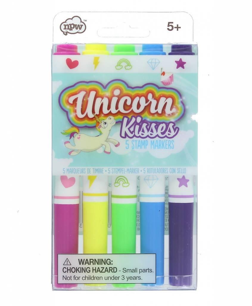 Unicorn Kisses stamp marker