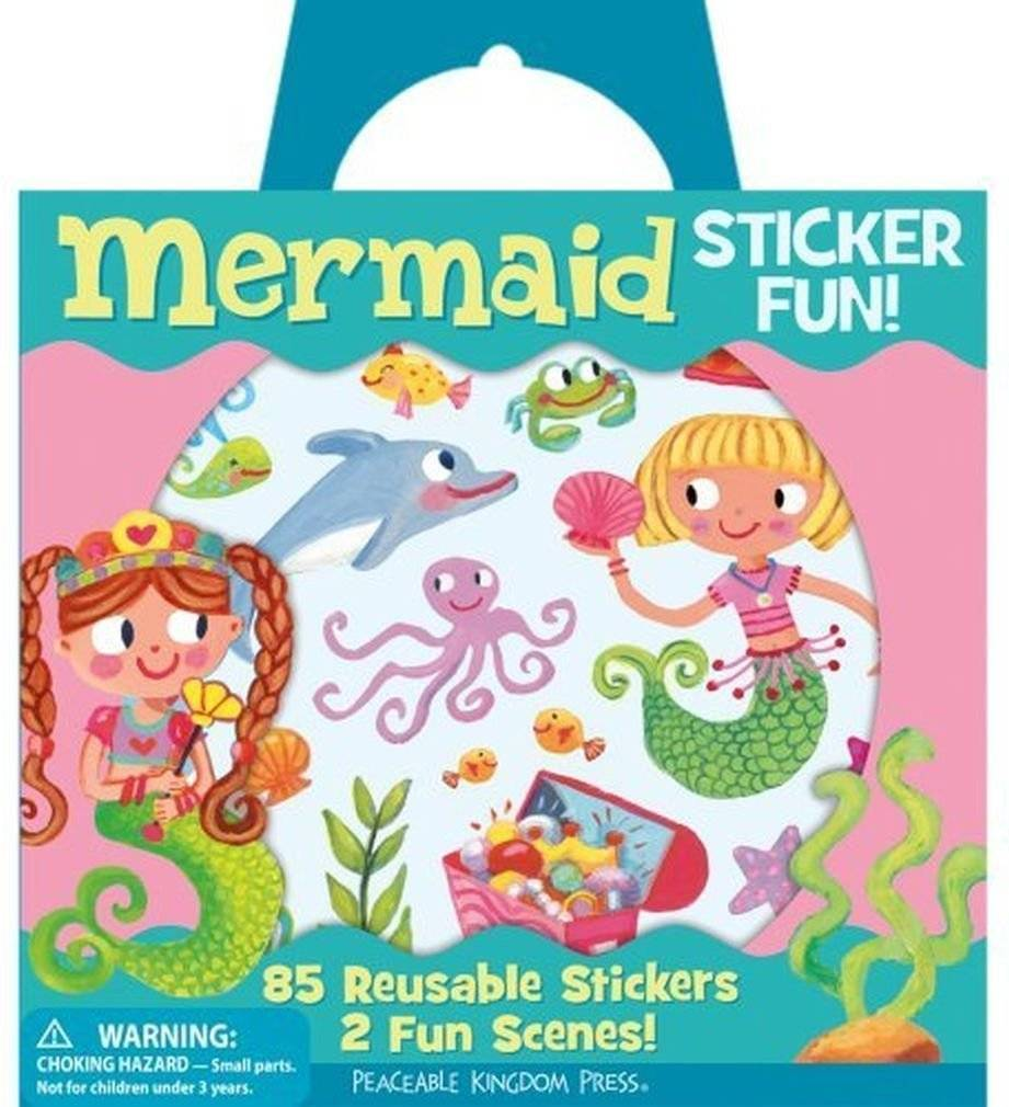 Mermaid Sticker Fun!