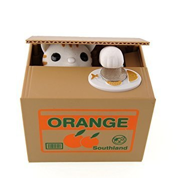 Cat in Box Bank