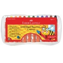12ct Brilliant Beeswax Crayons