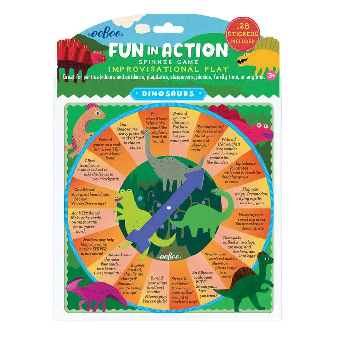 Fun in Action Spinner Game - Dinosaurs